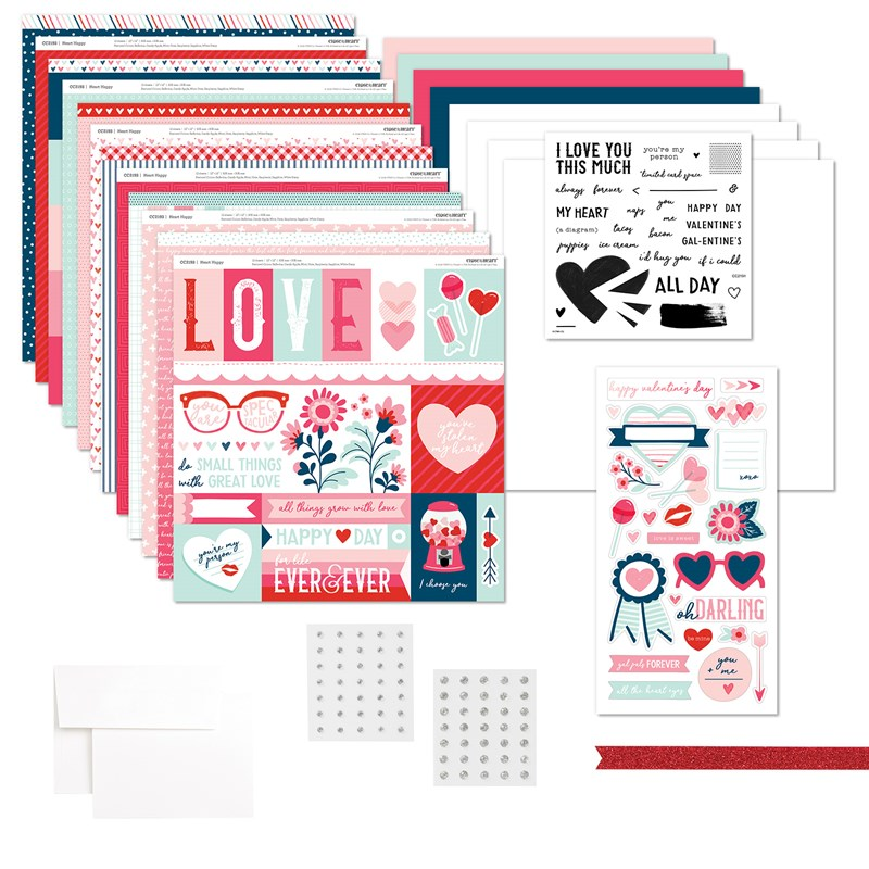 Heart Happy Workshop #ctmh #closetomyheart #ctmhhearthappy #valentine #valentine'sday #love #galentine'sday #diytags #tags #gifttag #scrapbooking #cardmaking