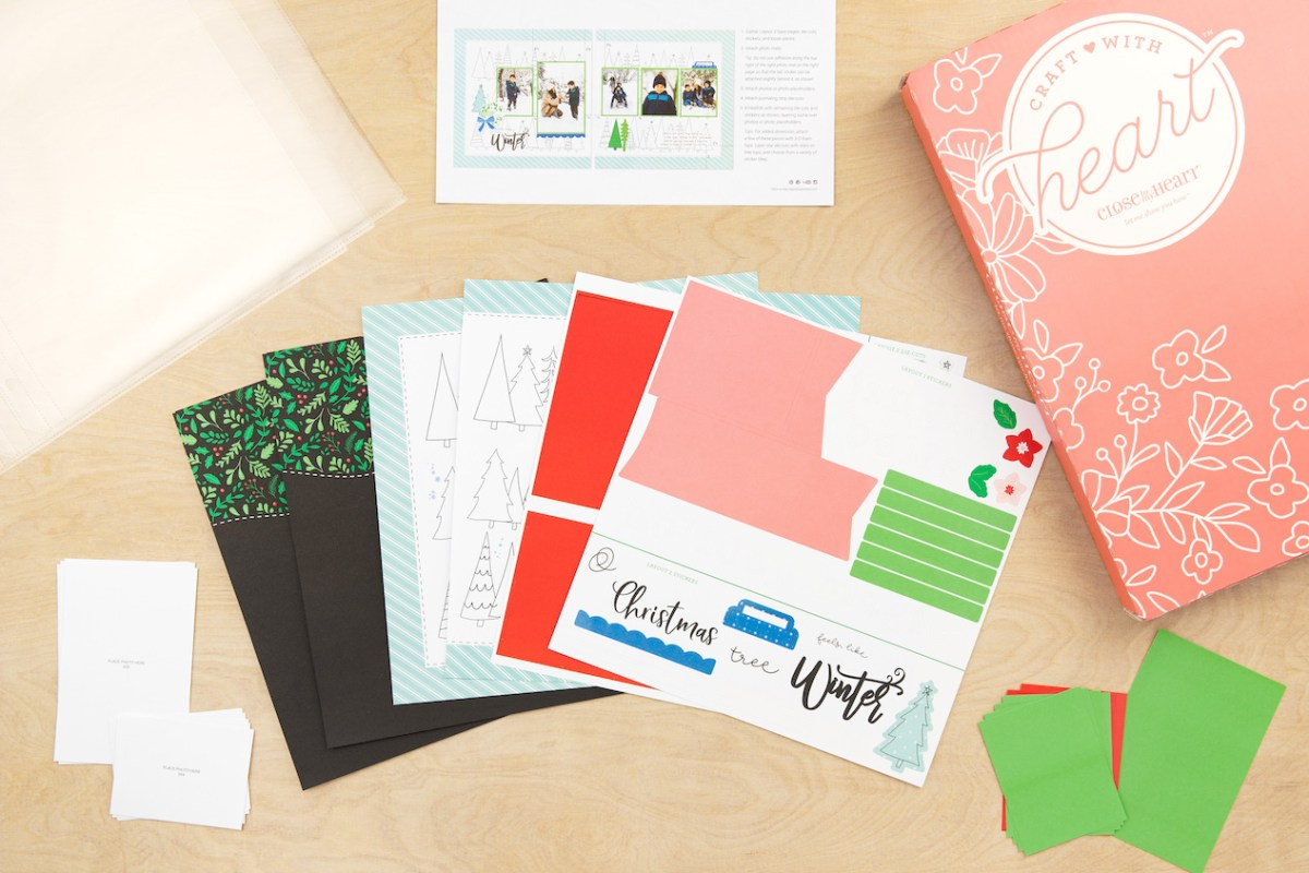 Scrapbooking and Cardmaking Made Easy #ctmh #closetomyheart #craftwithheart #scrapbooking #cardmaking #subscription #diy #easyscrapbooking #fastscrapbooking #easycardmaking #fastcardmaking