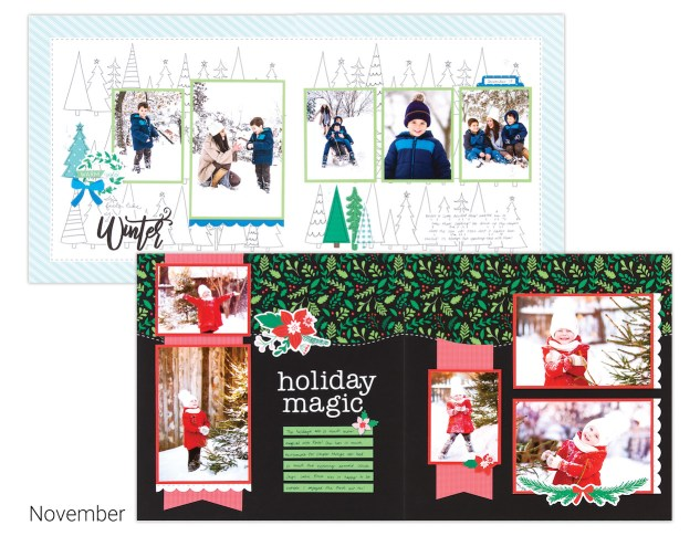 Scrapbooking and Cardmaking Made Easy #ctmh #closetomyheart #craftwithheart #scrapbooking #cardmaking #subscription #diy #easyscrapbooking #fastscrapbooking #easycardmaking #fastcardmaking #winter #holidaymagic