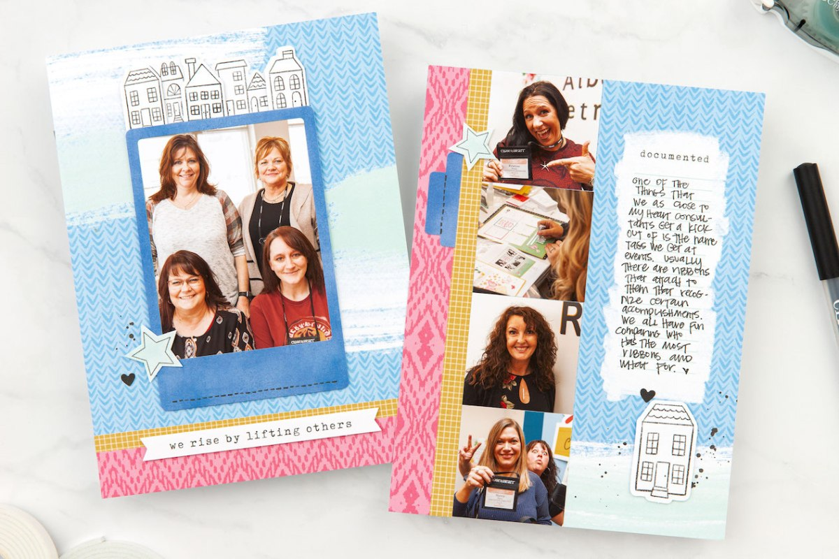 You Are My People #ctmh #closetomyheart #jeanettelynton #thesearemypeople #youaremypeople #ctmhconsultants #cutabove #scrapbooking #album #minialbum #memorykeeping #giveaway #birthday #prize #free