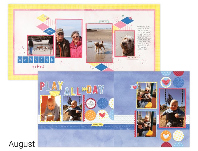 Scrapbooking Box Subscription #closetomyheart #ctmh #craftwithheart #cutabove #nationalscrapbookingmonth #nsm #scrapbooking #memorykeeping