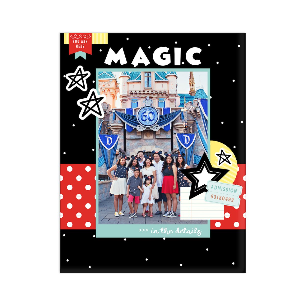 Happiest Place Paper Collection #ctmh #closetomyheart #happiestplace #scrapbooking #cardmaking #papercrafting #magic #themepark #amusementpark #dream #cutabove #memorykeeping