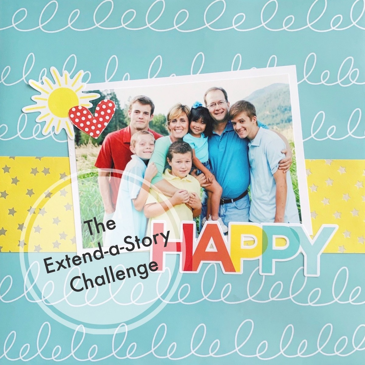 Extend a Story Challenge #ctmh #closetomyheart #storybystacy #stacyjulian #extendedstory #storytelling #memorykeeping #scrapbooking