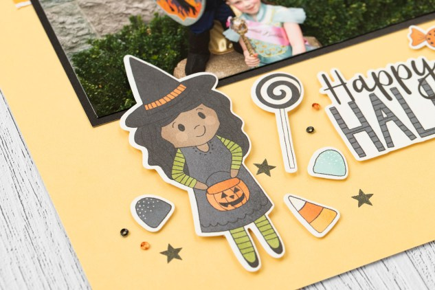 Got Candy #closetomyheart #ctmh #ctmhgotcandy #gotcandy #halloween #trickortreat #workshop #scrapbooking #treatbags #treattoppers #memorykeeping #witchcostume