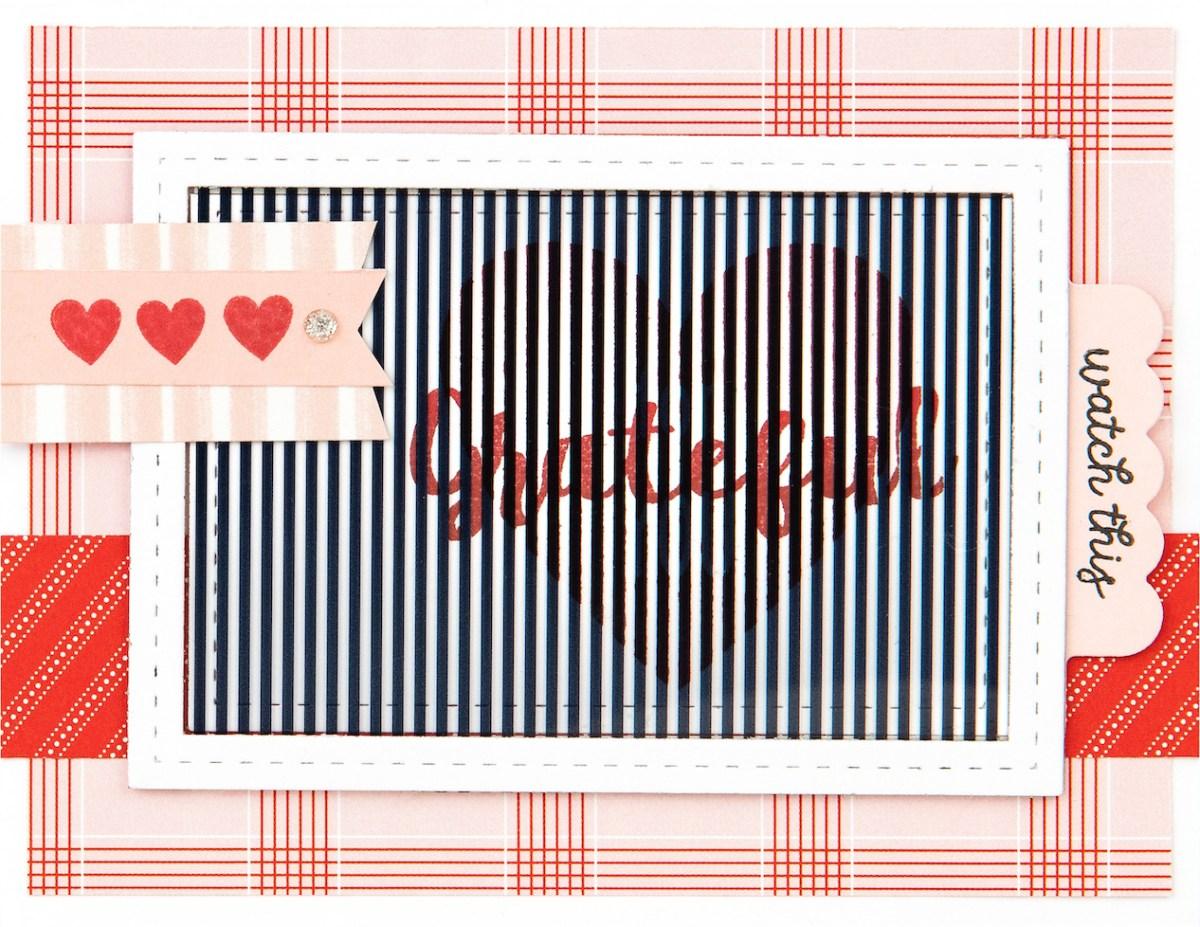 Free Card Pattern #ctmh #closetomyheart #freepattern #cardmaking #diy #ctmhseasonsinmotion #animatedcards #interactivecards #autumnair #holidaycheer #grateful