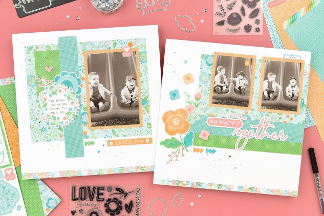 Blossom Papercrafting Collection #ctmh #closetomyheart #scrapbooking #cardmaking #papercrafting #BBMPBlossom #blossom #SoHappyTogether