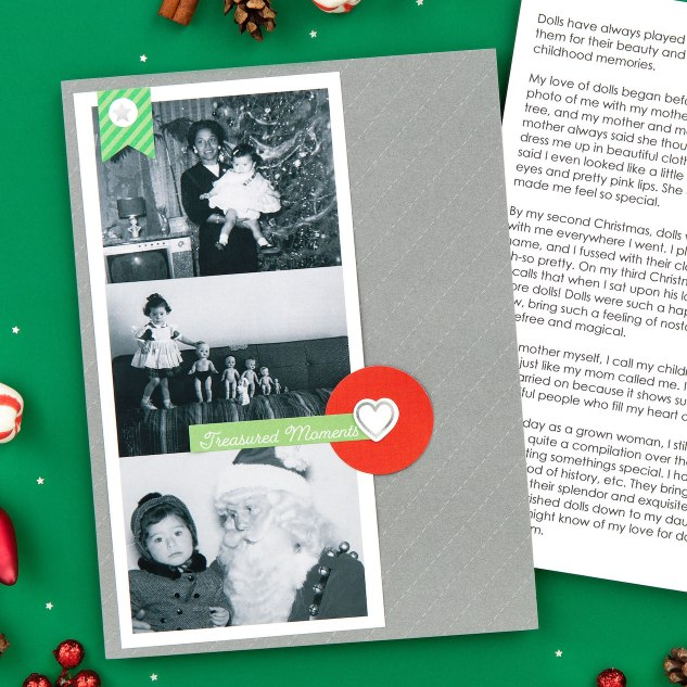 Holiday Stories I Love #ctmh #closetomyheart #storybystacy #holidaystoriesilove #storiesilove #storytelling #memorykeeping #scrapbooking #holiday #christmas