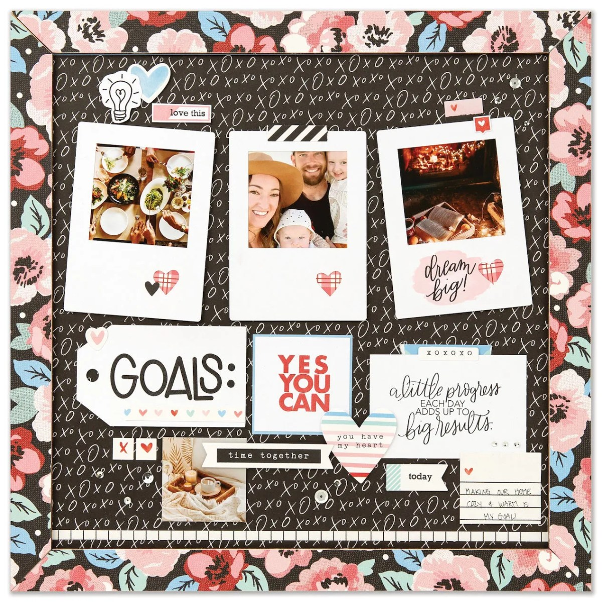 Vision Boards for Intentional Living #ctmh #closetomyheart #ctmhhomesweethome #visionboards #goals #inspiration #newyeargoals #makeithappen