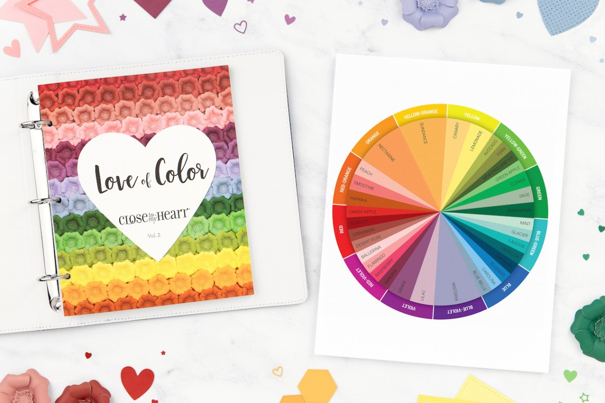 Love of Color #closetomyheart #ctmh #loveofcolor #ctmhcolorwheel #loveofcolour #ctmhcolourwheel #colorwheel #colourwheel #watercolor #watercolour