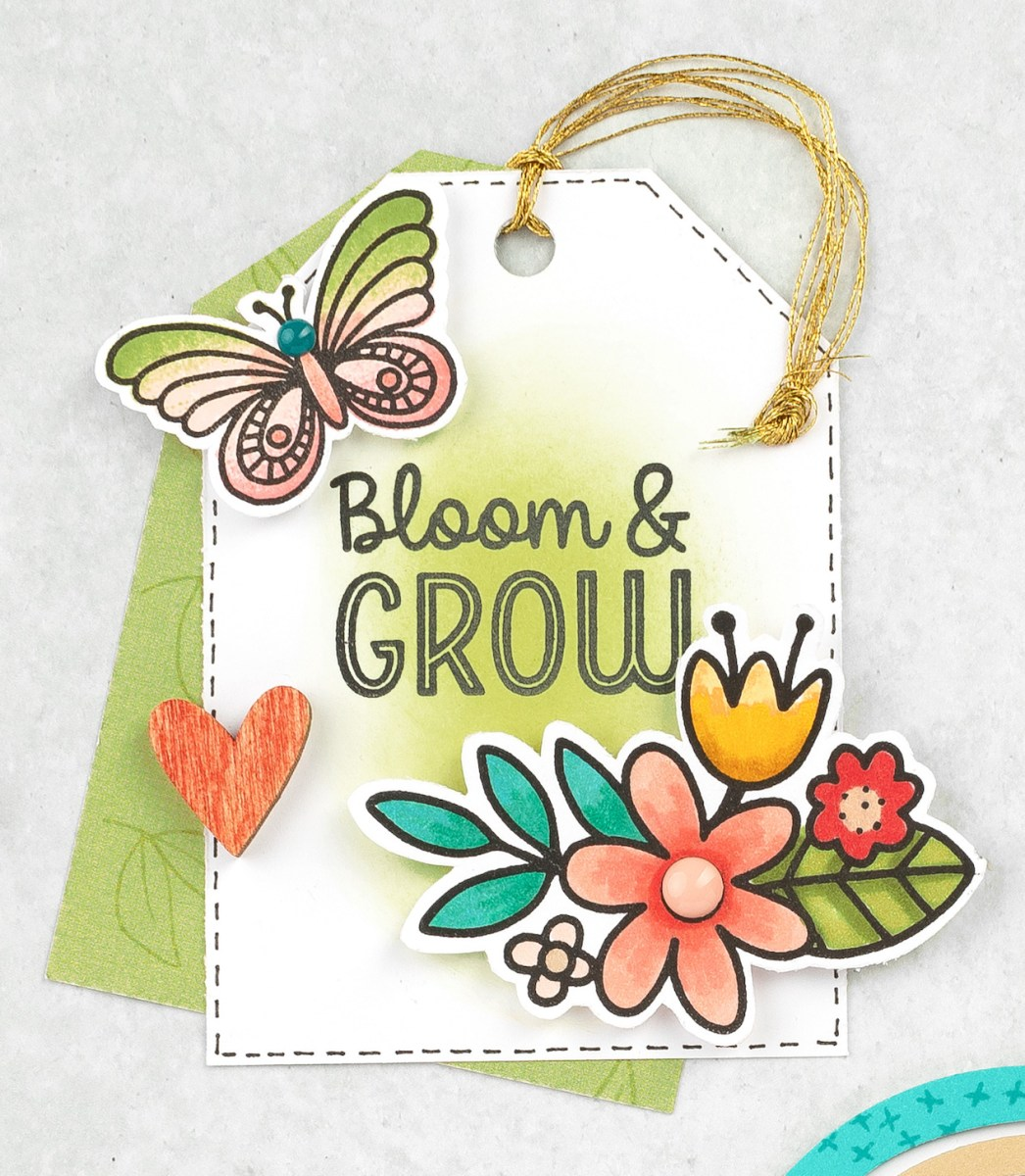 Embellishment Clusters #closetomyheart #ctmh #embellishmentclusters #paperaccents #cardmaking #scrapbooking #papercrafting #bloomandgrow #bloom&grow