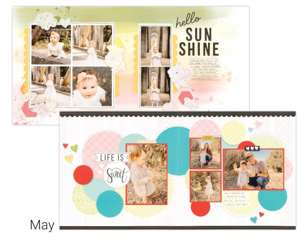Scrapbooking In Minutes #closetomyheart #ctmh #craftwithheart #cutabove #scrapbooking