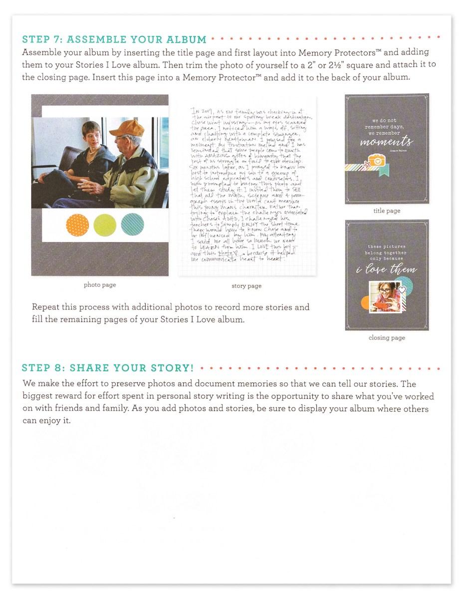 Stories I Love #closetomyheart #ctmh #ctmhxstorybystacy #stacyjulian #ctmhstoriesilove #storiesilove #storytelling #memorykeeping #scrapbooking