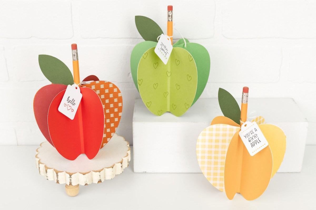 DIY Teacher Gifts #closetomyheart #ctmh #backtoschool #diy #teachergifts #apple