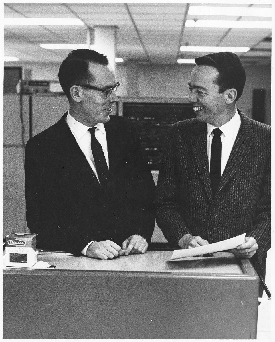 Ivan Sutherland and David Evans