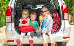 Os cuidados com as crianças na hora da viagem