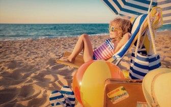 Praias belas e tranquilas para curtir com as crianças