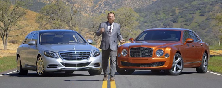 Maybach S600 vs Bentley Mulsanne