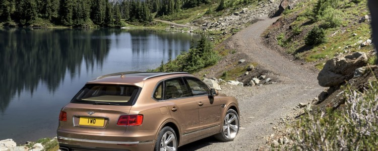 Bentley Bentayga SUV based on the EXP 9 F concept