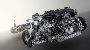 Bentley Bentayga engine