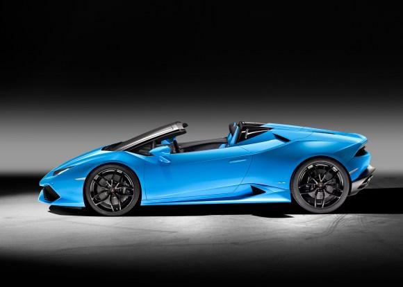Lamborghini Huracan Spyder side