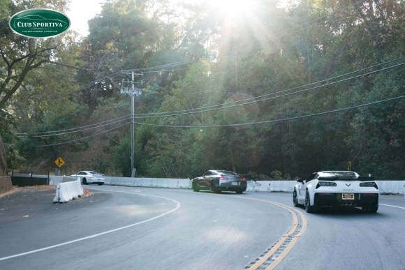 Z06 with Nissan GT-R and Porsche GT3