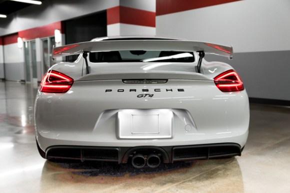 Cayman GT4 exhaust