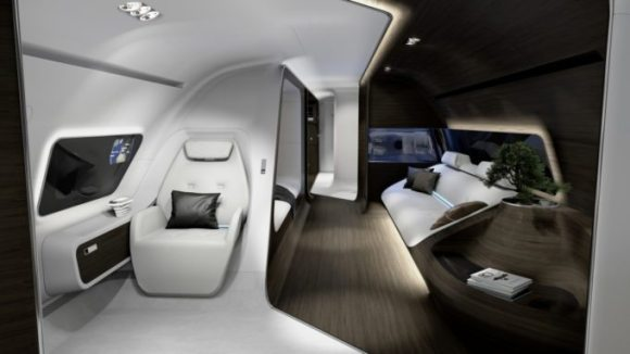 mercedes-private-jet-interior-rendering