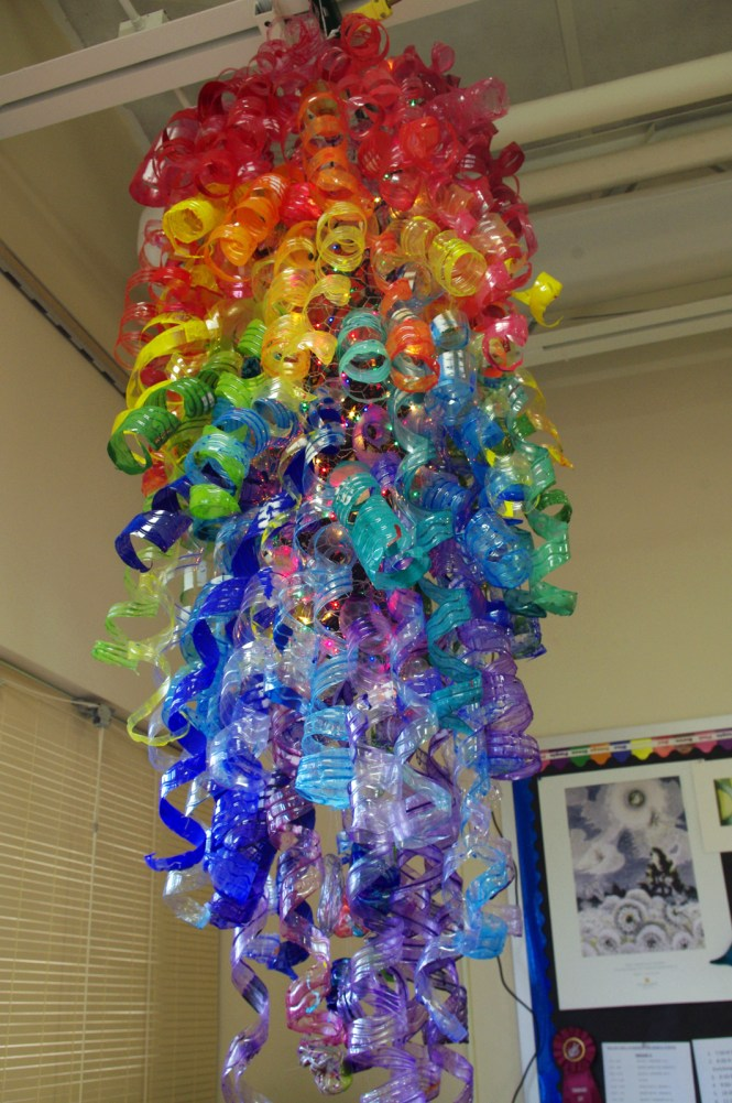 Sculpture By Tonawanda Middle School Students Inspired The Glass Art Of Dale Chihuly