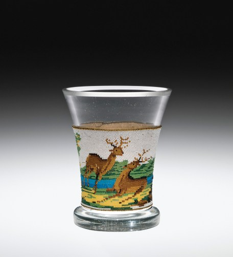 Beaker with Beaded Band, 79.3.578. Collection of The Corning Museum of Glass