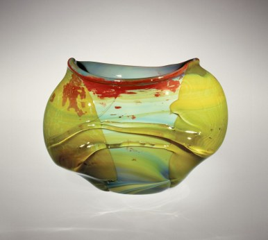 Harvey Littleton, Vessel, 1965 (collection of The Corning Museum of Glass, 66.4.47)