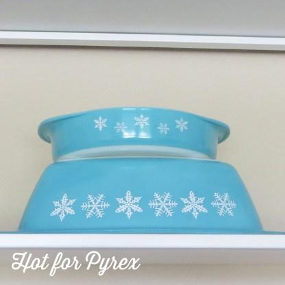 Snowflake Pyrex