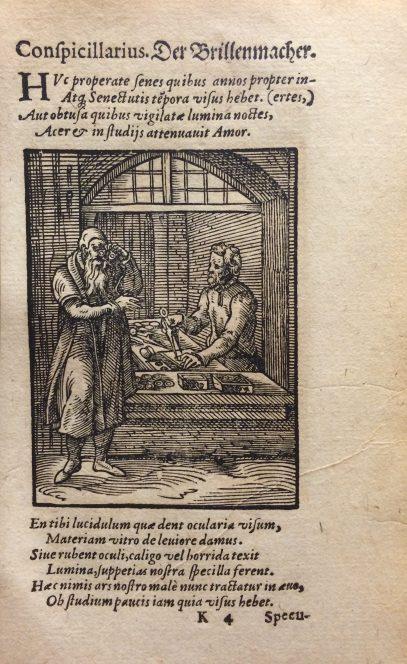 Der Spiegler from De omnibus illiberalibus siue mechanicis artibus, CMGL 75463.
