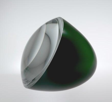 Half-Green Egg with Optical Lens, Václav Cigler (Czech, b. 1929), 2009, Prague, Czech Republic, 2010.3.7. © Václav Cigler