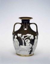 Copy of the Portland Vase, Minton & Co., Marc Louis Solon, Stoke-on-Trent, England, 1874