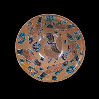Bowl, probably Egypt, 900-1099. Gift of Lyuba and Ernesto Wolf. 99.1.1.
