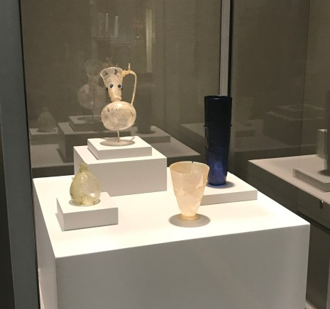 Objects in the Conservation Stories case.