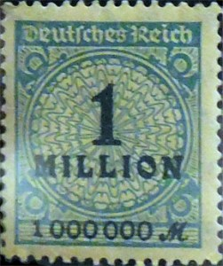 One Million Mark Stamp