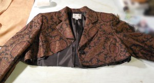 Corset and Jacket project - Shaping the Jacket