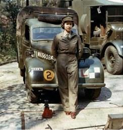 princess Elizabeth in Uniform