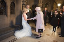 Queen Elizabeth Crashes Frances and John Canning's Wedding