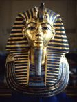 Death Mask of King Tut, Sold Gold and Lapis Lazuli