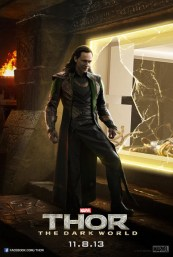 Thor 2 poster with Loki