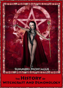 Modern Cover for The History Of Witchcraft And Demonology - Summers Montague