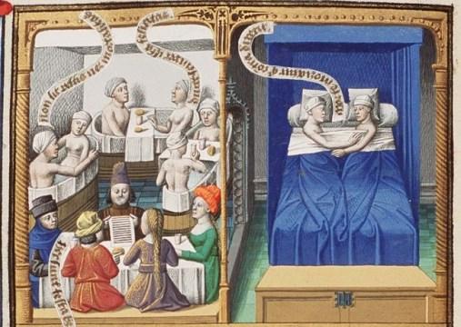 Medieval baths
