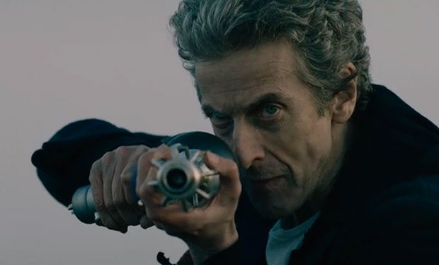 Twelfth Doctor with Dalek Gun