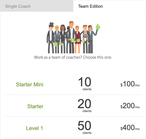 Affordable coaching software for 2 coaches