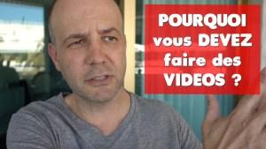 COACHING David KOMSI : Vidéo 2 - Pourquoi vous devez faire des videos