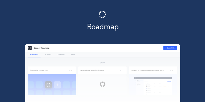 codacy product roadmap