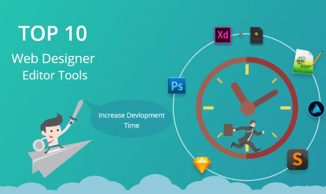 web designer editor tools