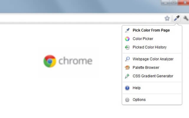 colorZilla chrome extension - codedthemes